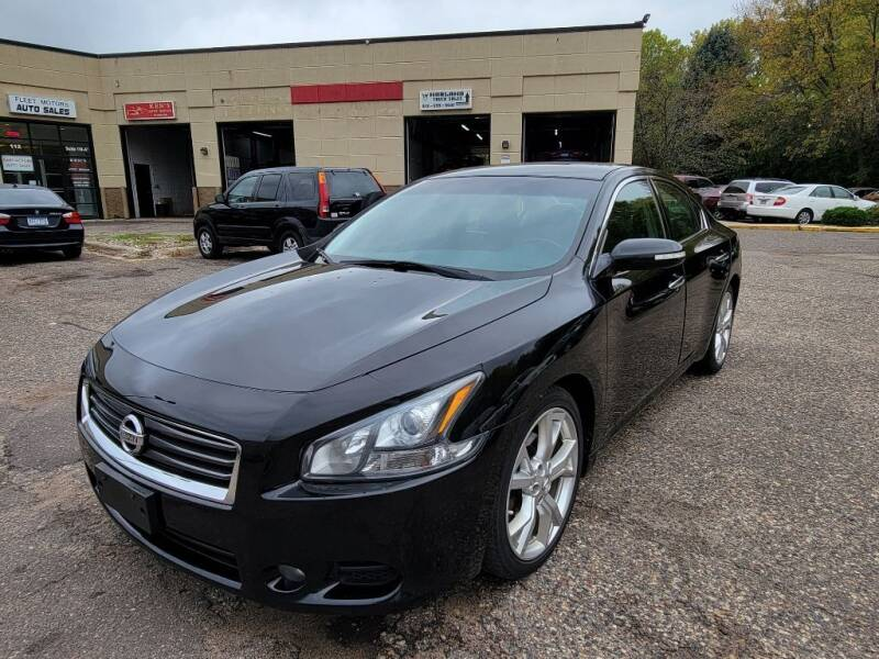 2012 Nissan Maxima for sale at Fleet Automotive LLC in Maplewood MN