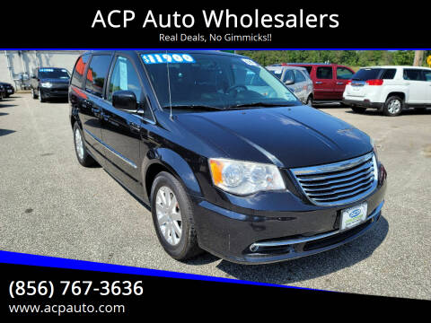 2014 Chrysler Town and Country for sale at ACP Auto Wholesalers in Berlin NJ
