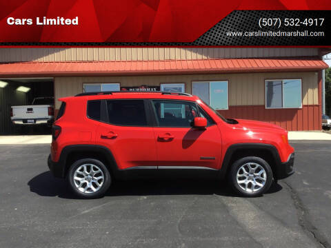 2016 Jeep Renegade for sale at Cars Limited in Marshall MN