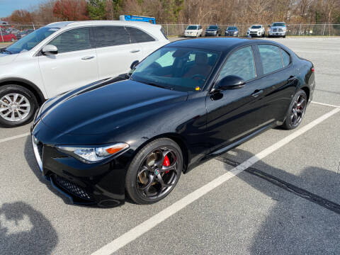 2018 Alfa Romeo Giulia for sale at TOP OF THE LINE AUTO SALES in Fayetteville NC