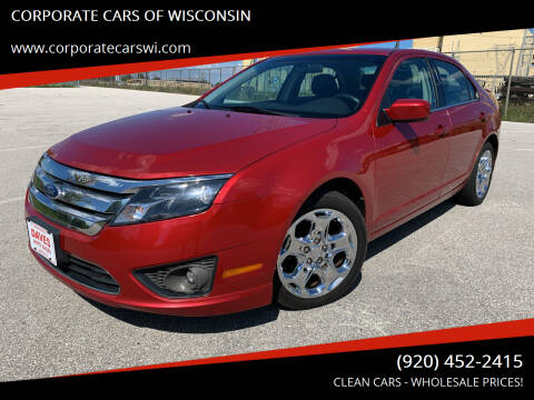 2011 Ford Fusion for sale at CORPORATE CARS OF WISCONSIN - DAVES AUTO SALES OF SHEBOYGAN in Sheboygan WI