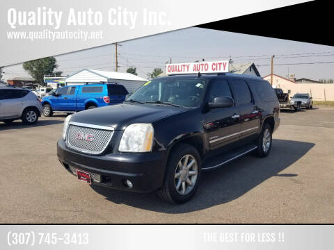 2010 GMC Yukon XL for sale at Quality Auto City Inc. in Laramie WY