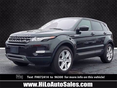 2015 Land Rover Range Rover Evoque for sale at Hi-Lo Auto Sales in Frederick MD