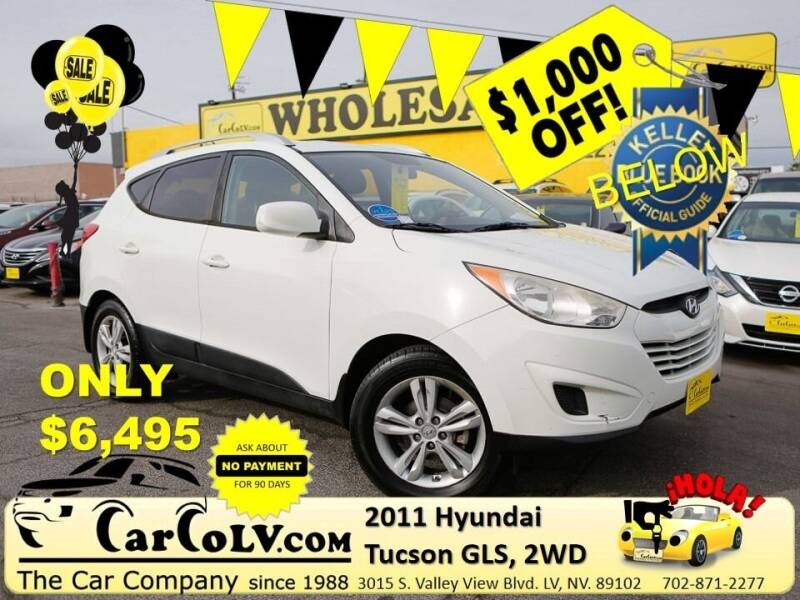 2011 Hyundai Tucson for sale at The Car Company in Las Vegas NV