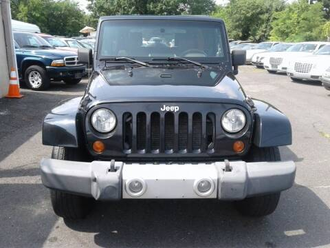 2008 Jeep Wrangler Unlimited for sale at Wilson Investments LLC in Ewing NJ