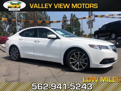 2015 Acura TLX for sale at Valley View Motors in Whittier CA
