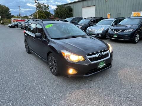 2012 Subaru Impreza for sale at Vermont Auto Service in South Burlington VT