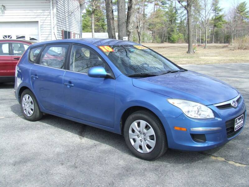 2010 Hyundai Elantra Touring for sale at DUVAL AUTO SALES in Turner ME