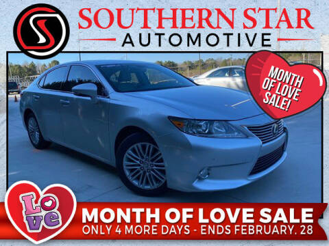 2013 Lexus ES 350 for sale at Southern Star Automotive, Inc. in Duluth GA