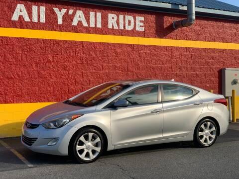 2012 Hyundai Elantra for sale at Big Daddy's Auto in Winston-Salem NC