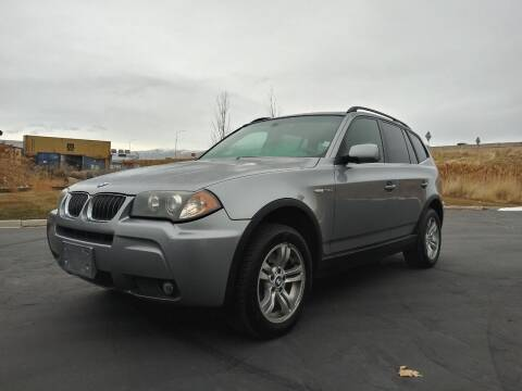 2006 BMW X3 for sale at AUTOMOTIVE SOLUTIONS in Salt Lake City UT