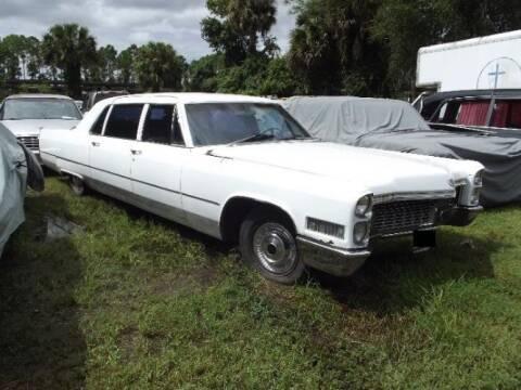 1966 Cadillac Fleetwood for sale at Classic Car Deals in Cadillac MI