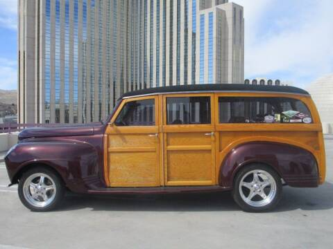 1941 Plymouth Woody for sale at Sierra Classics & Imports in Reno NV
