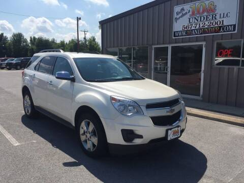 2014 Chevrolet Equinox for sale at KEITH JORDAN'S 10 & UNDER in Lima OH