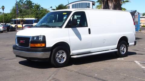 2018 GMC Savana Cargo for sale at Okaidi Auto Sales in Sacramento CA
