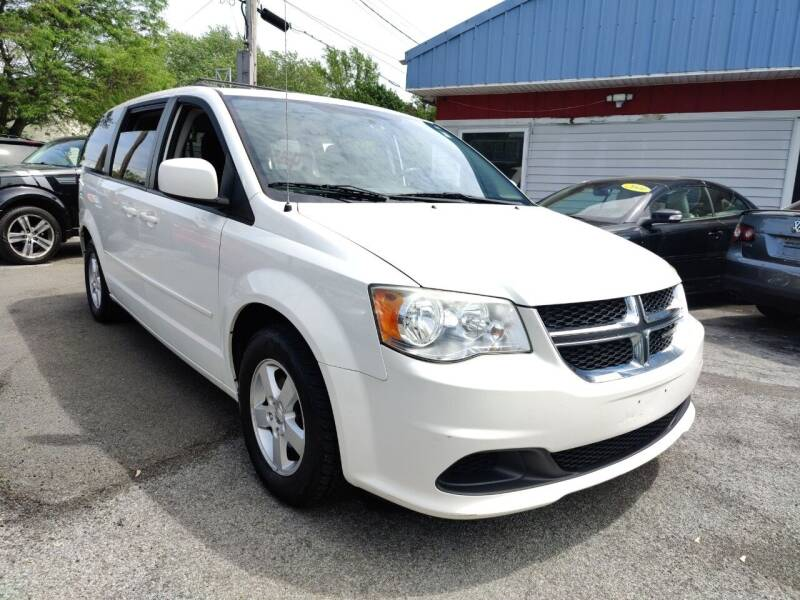 2012 Dodge Grand Caravan for sale at Peter Kay Auto Sales in Alden NY