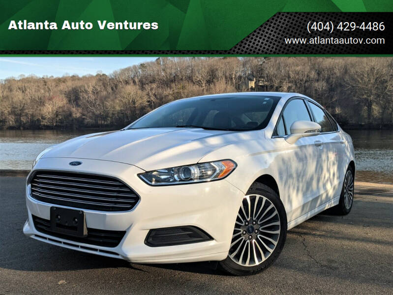 2016 Ford Fusion for sale at Atlanta Auto Ventures in Roswell GA