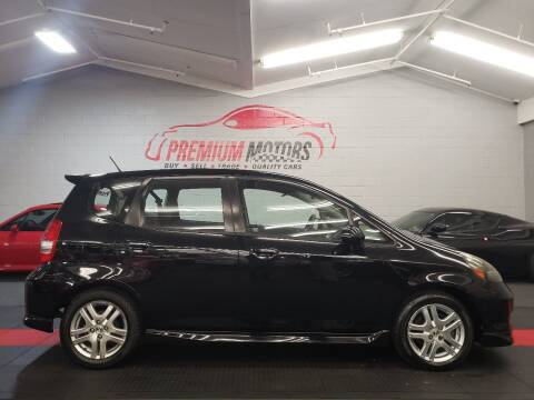2008 Honda Fit for sale at Premium Motors in Villa Park IL