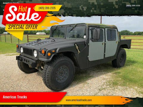 1986 HUMMER H1 for sale at Americas Trucks in Jones OK