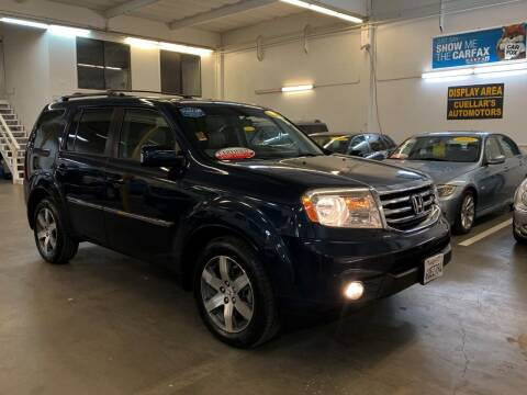 2012 Honda Pilot for sale at Cuellars Automotive in Sacramento CA