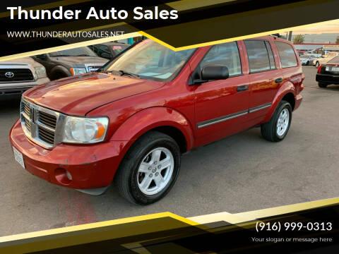 2007 Dodge Durango for sale at Thunder Auto Sales in Sacramento CA