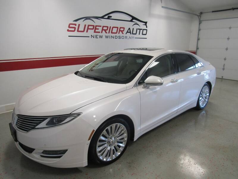 2015 Lincoln MKZ for sale at Superior Auto Sales in New Windsor NY