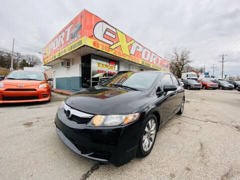 2010 Honda Civic for sale at EXPORT AUTO SALES, INC. in Nashville TN