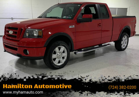 2007 Ford F-150 for sale at Hamilton Automotive in North Huntingdon PA