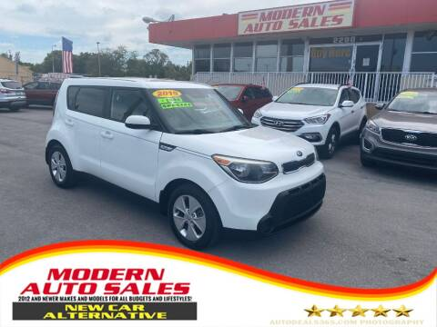2015 Kia Soul for sale at Modern Auto Sales in Hollywood FL