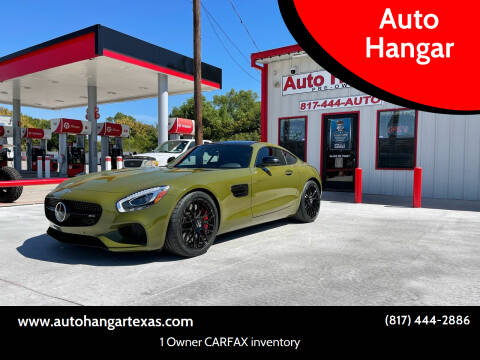 2016 Mercedes-Benz AMG GT for sale at Auto Hangar in Azle TX