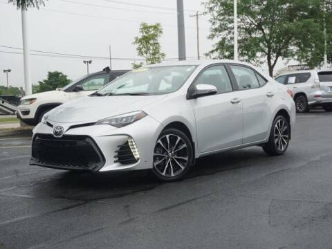 2017 Toyota Corolla for sale at BASNEY HONDA in Mishawaka IN