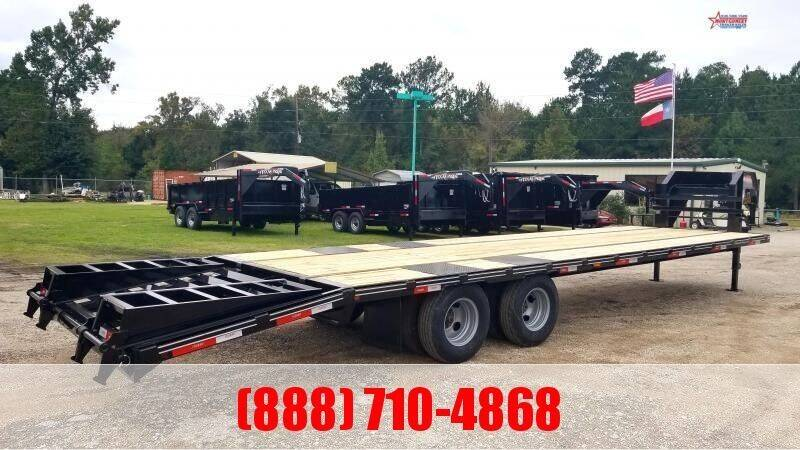 2021 LEGEND 32' Flatbed Gooseneck 22K for sale at Montgomery Trailer Sales - LEGEND in Conroe TX