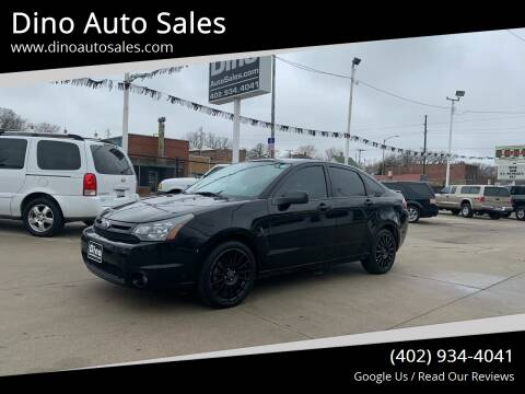 2010 Ford Focus for sale at Dino Auto Sales in Omaha NE