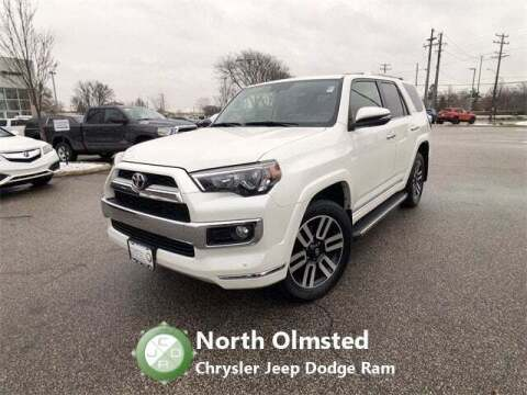 2018 Toyota 4Runner for sale at North Olmsted Chrysler Jeep Dodge Ram in North Olmsted OH