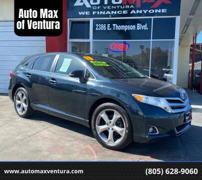 2013 Toyota Venza for sale at Auto Max of Ventura in Ventura CA
