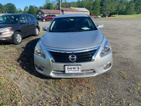 2013 Nissan Altima for sale at DOW'S AUTO SALES in Palmyra ME