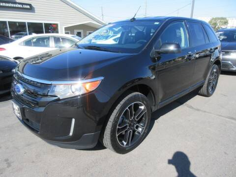 2014 Ford Edge for sale at Dam Auto Sales in Sioux City IA