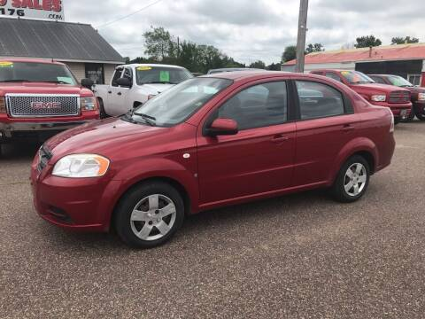 2007 Chevrolet Aveo for sale at BLAESER AUTO LLC in Chippewa Falls WI