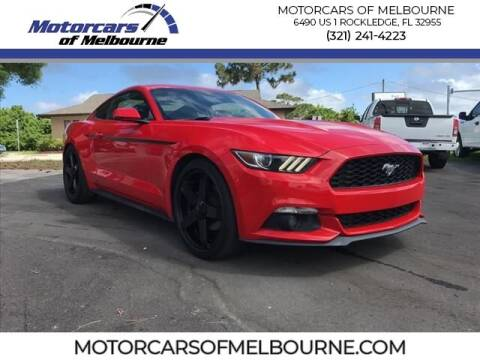 2016 Ford Mustang for sale at Motorcars of Melbourne in Rockledge FL