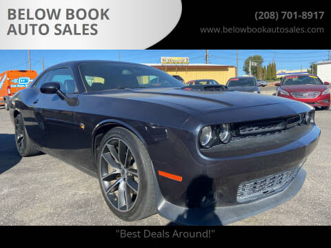 2017 Dodge Challenger for sale at BELOW BOOK AUTO SALES in Idaho Falls ID