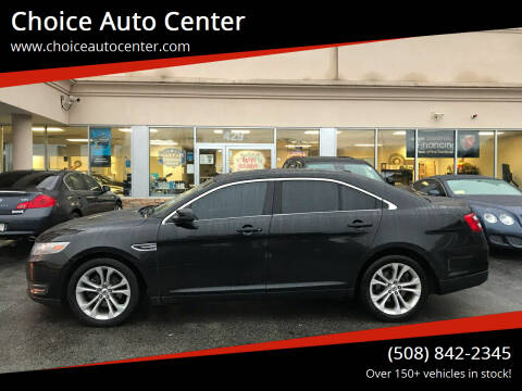 2013 Ford Taurus for sale at Choice Auto Center in Shrewsbury MA
