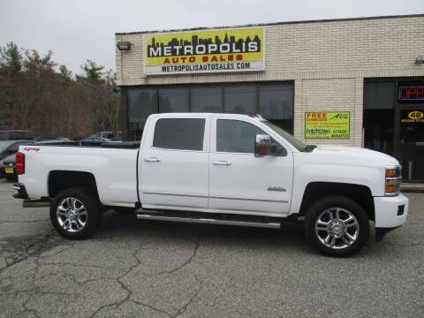 2018 Chevrolet Silverado 2500HD for sale at Metropolis Auto Sales in Pelham NH