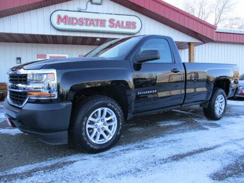 2016 Chevrolet Silverado 1500 for sale at Midstate Sales in Foley MN