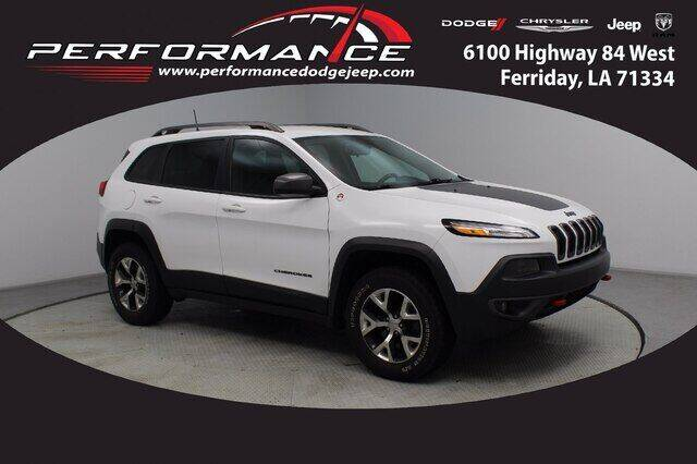 2017 Jeep Cherokee for sale at Performance Dodge Chrysler Jeep in Ferriday LA