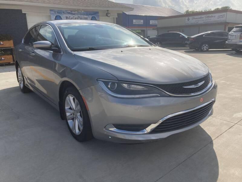 2015 Chrysler 200 for sale at Princeton Motors in Princeton TX