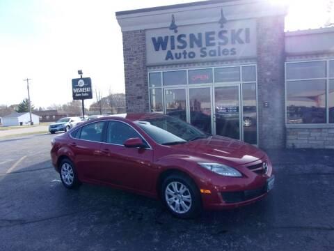 2009 Mazda MAZDA6 for sale at Wisneski Auto Sales, Inc. in Green Bay WI