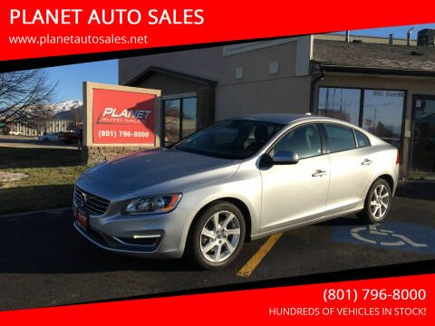 2014 Volvo S60 for sale at PLANET AUTO SALES in Lindon UT