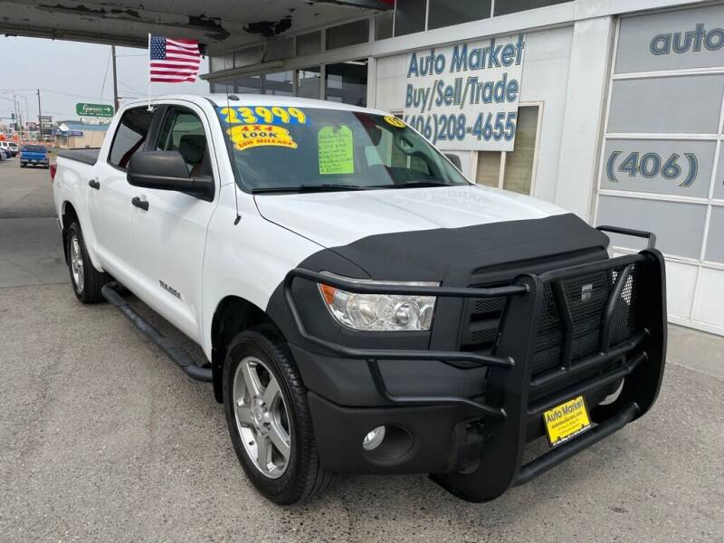 2012 Toyota Tundra for sale at Auto Market in Billings MT