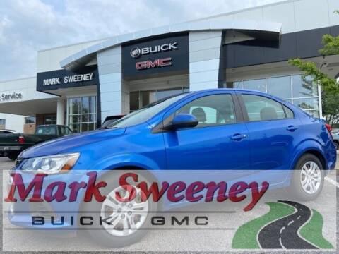 2017 Chevrolet Sonic for sale at Mark Sweeney Buick GMC in Cincinnati OH