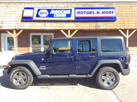 2013 Jeep Wrangler Unlimited for sale at MOTORS N MORE in Brainerd MN